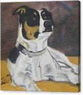 The Dog Yo Canvas Print