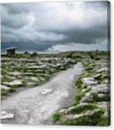 The Dolmen In The Burren Canvas Print