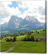 The Dolomites, Italy Canvas Print