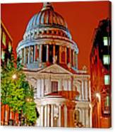 The Dome Of St Pauls Canvas Print