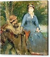 The Donkey Ride Canvas Print