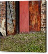 The Door Canvas Print
