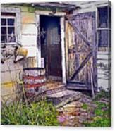 The Door Is Always Open Canvas Print