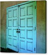 The Door To A Better Place Canvas Print