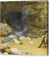 The Dragon's Cave Canvas Print