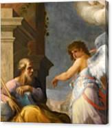 The Dream Of Saint Joseph Canvas Print