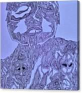 The Dreaming Man Canvas Print