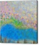 The Dreamy Pond Canvas Print