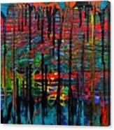 The Drip Canvas Print