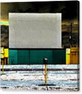 The Drive In Canvas Print