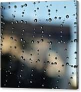 The Droplet Curtain Canvas Print