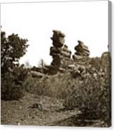 The Dutchmangarden Of The Gods, Colorado Canvas Print