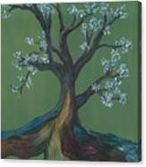 The E Tree Canvas Print