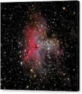 The Eagle Nebula And The Stellar Spire Canvas Print