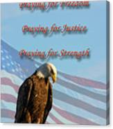 The Eagles Prayer Canvas Print