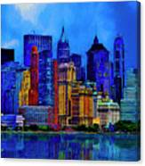 The East Side Canvas Print