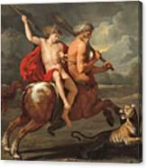 The Education Of Achilles Canvas Print