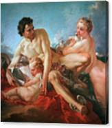 The Education Of Cupid Canvas Print