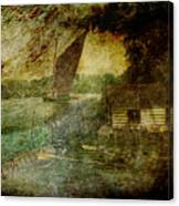 The Eel Fisher's Hut Canvas Print