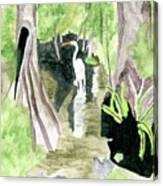 The Egret Canvas Print