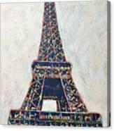 The Eiffel Tower Canvas Print