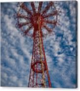 The Eiffel Tower Of Brooklyn Canvas Print