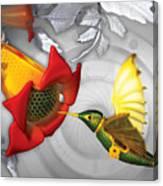 The Electric Hummingbird Canvas Print