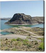 The Elephant At Elephant Butte Lake  Canvas Print