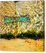 The Emerald Bow Tie Canvas Print