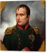 The Emperor Napoleon I Canvas Print