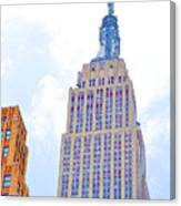 The Empire State Building 2 Canvas Print