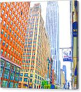 The Empire State Building 3 Canvas Print