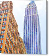 The Empire State Building 4 Canvas Print