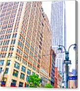 The Empire State Building 6 Canvas Print