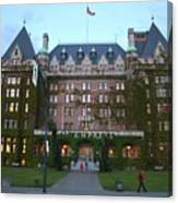 The Empress Hotel Canvas Print