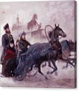 The Empress Maria Fjodorovna Canvas Print