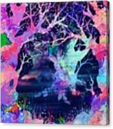 The Enchanted Wood Canvas Print