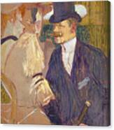 The Englishman  Canvas Print