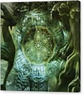 The Enigma Of Capricorn  Canvas Print
