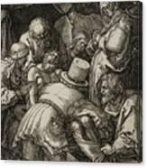 The Entombment  Canvas Print