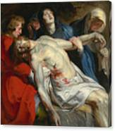 The Entombment Canvas Print
