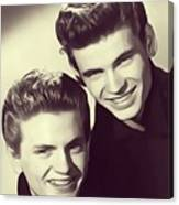 The Everly Brothers Canvas Print