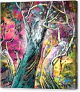 The Expulsion From Paradise Canvas Print