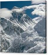 The Extreme Terrain Of Mount Everest Canvas Print