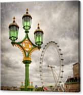 The Eye Is The Lamp Of The Body Canvas Print