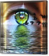 The Eye Of The Observer Canvas Print