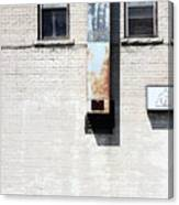 The Eyes Are The Windows To This Building Canvas Print