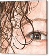 The Eyes Have It - Stacia Canvas Print