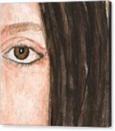 The Eyes Have It- Katelyn Canvas Print