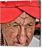 The Eyes Of Age Canvas Print